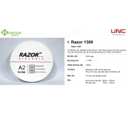 Phôi đục Razor 1300 MPa - UNC International